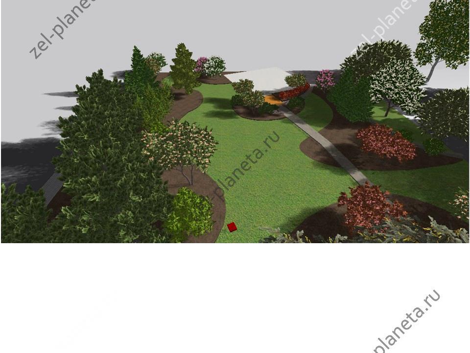 Сад для прогулок